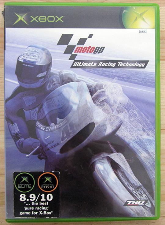 MotoGP: Ultimate Racing Technology XBOX