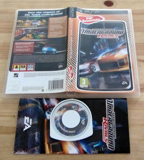 Need for Speed: Underground Rivals PSP