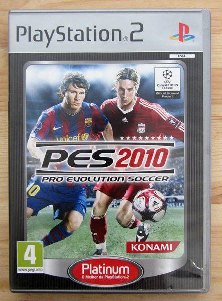 Pro Evolution Soccer 2010 PS2
