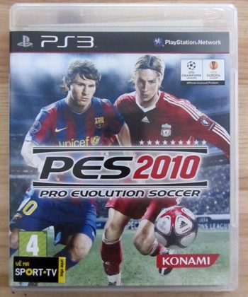 Pro Evolution Soccer 2010 PS3