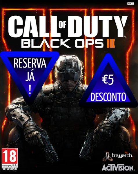 Reserva Call of Duty: Black Ops III