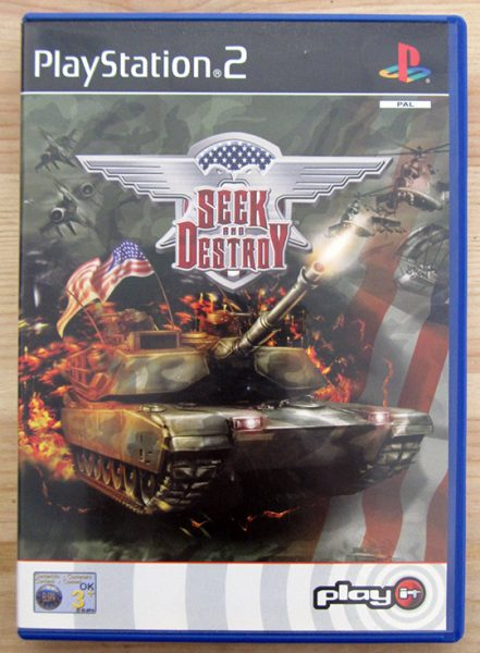 Seek and Destroy PS2