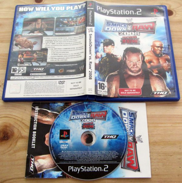 Smackdown vs Raw 2008 PS2