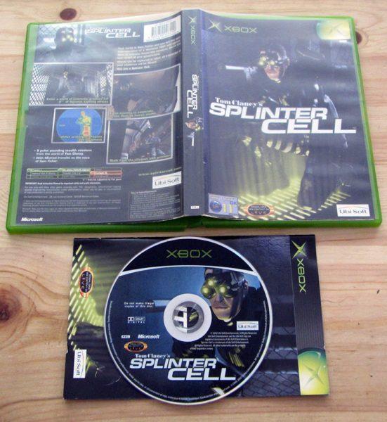 Tom Clancy's Splinter Cell XBOX
