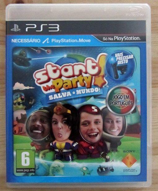 Start The Party! Salva o Mundo! PS3