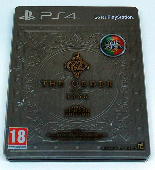 The Order: 1886 PS4 - Limited Edition
