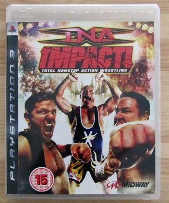 TNA Impact! Total Nonstop Action Wrestling PS3