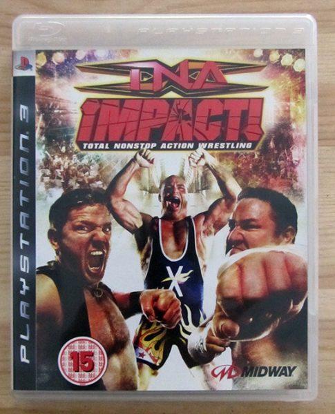 TNA Impact! Total Nonstop Action Wrestling PS3