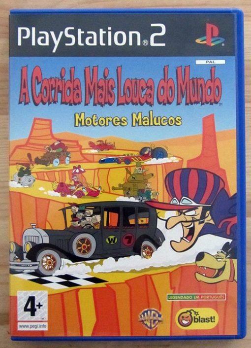 A Corrida Mais Louca do Mundo: Motores Malucos (Wacky Races) PS2