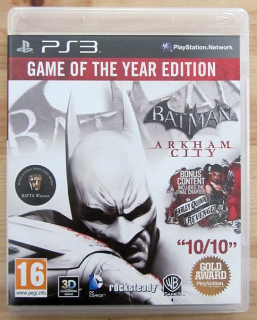 Batman Arkham City - Game of the Year Edition PS3
