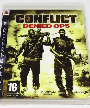 Conflict: Denied Ops PS3