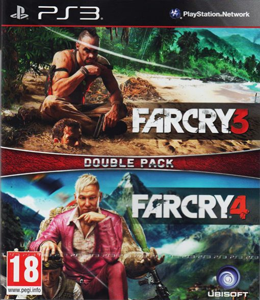 Pack Far Cry 3 + Far Cry 4 PS3