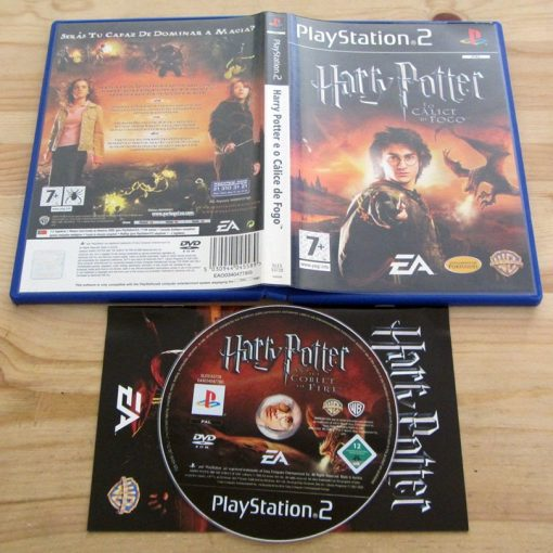 Harry Potter e o Cálice de Fogo PS2