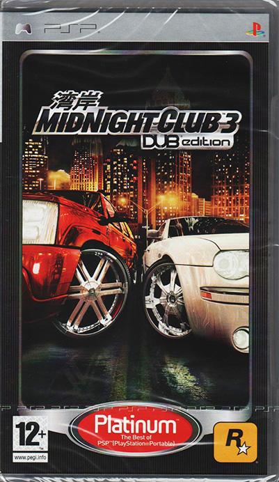 Midnight Club 3: DUB Edition Remix PSP