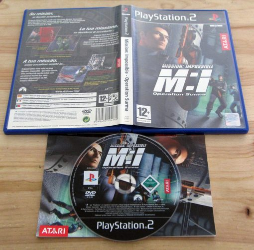 Mission Impossible: Operation Surma PS2