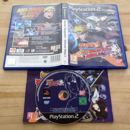 Naruto Shippuden: Ultimate Ninja 5 PS2