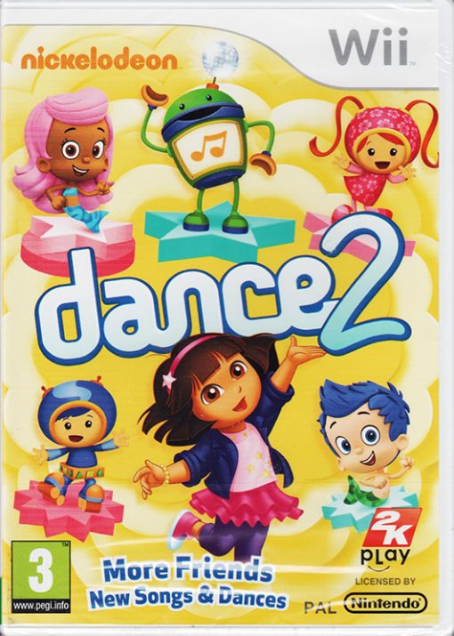 Nickelodeon Dance 2 WII