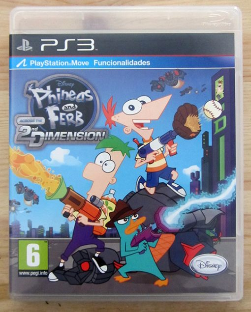 Phineas and Ferb: Across the 2nd Dimension PS3