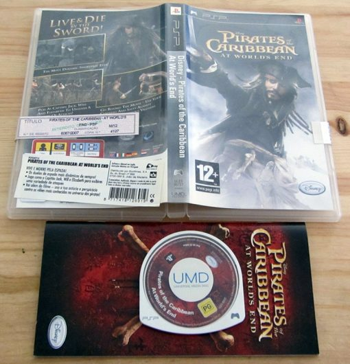 Pirates of the Caribbean: At World's End PSP