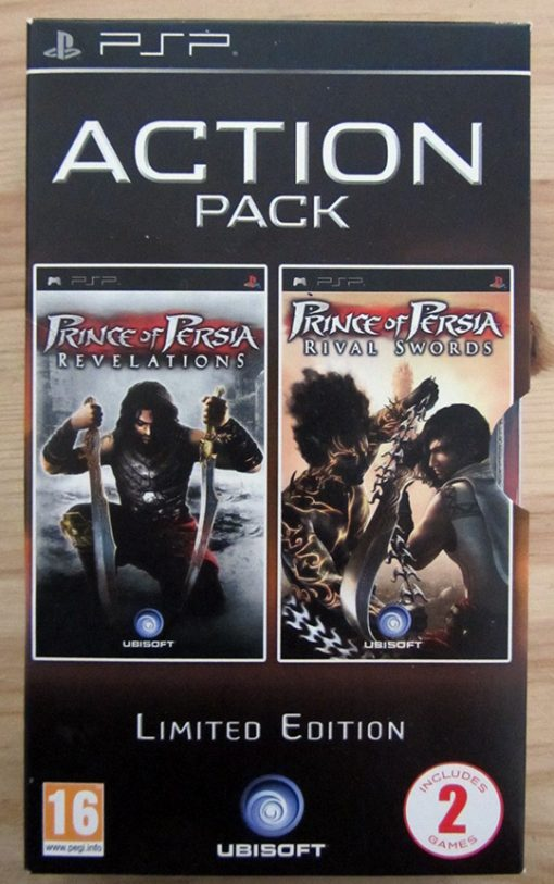 Prince of Persia - Action Pack PSP