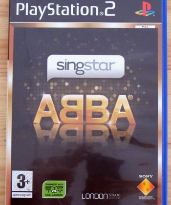 SingStar ABBA PS2