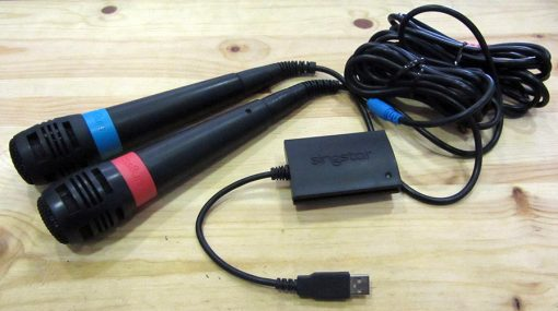 Microfones SingStar PS2