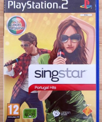 SingStar Portugal Hits PS2