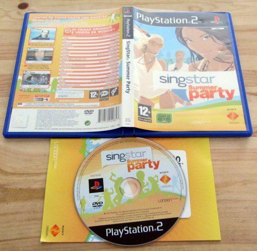 SingStar Summer Party PS2