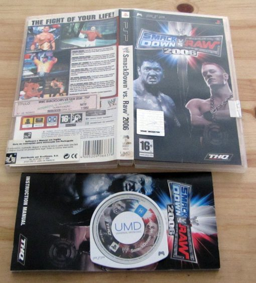 Smackdown vs Raw 2007 PSP