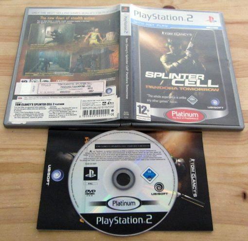 Splinter Cell: Pandora Tomorrow PS2