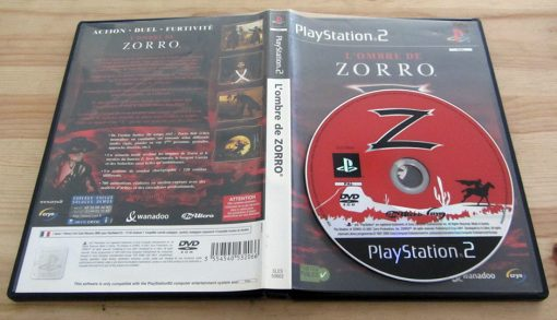 The Shadow of Zorro PS2