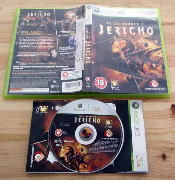 Clive Barker's Jericho X360