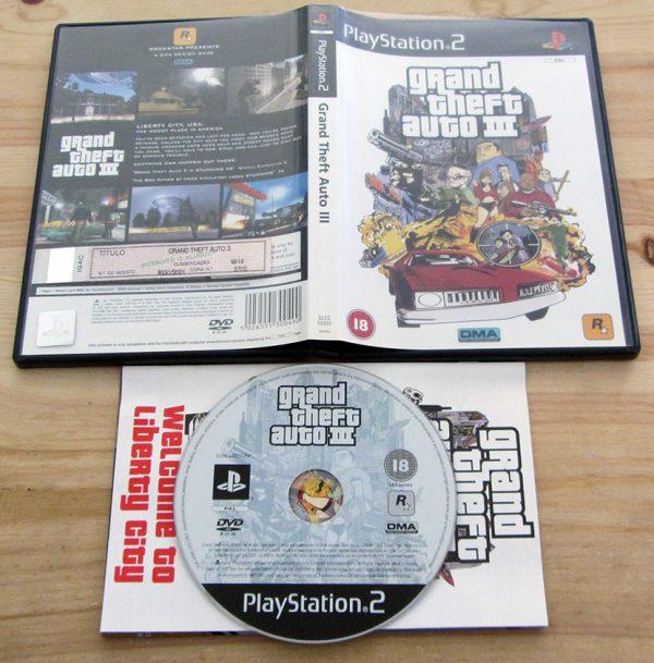 Grand Theft Auto III PS2