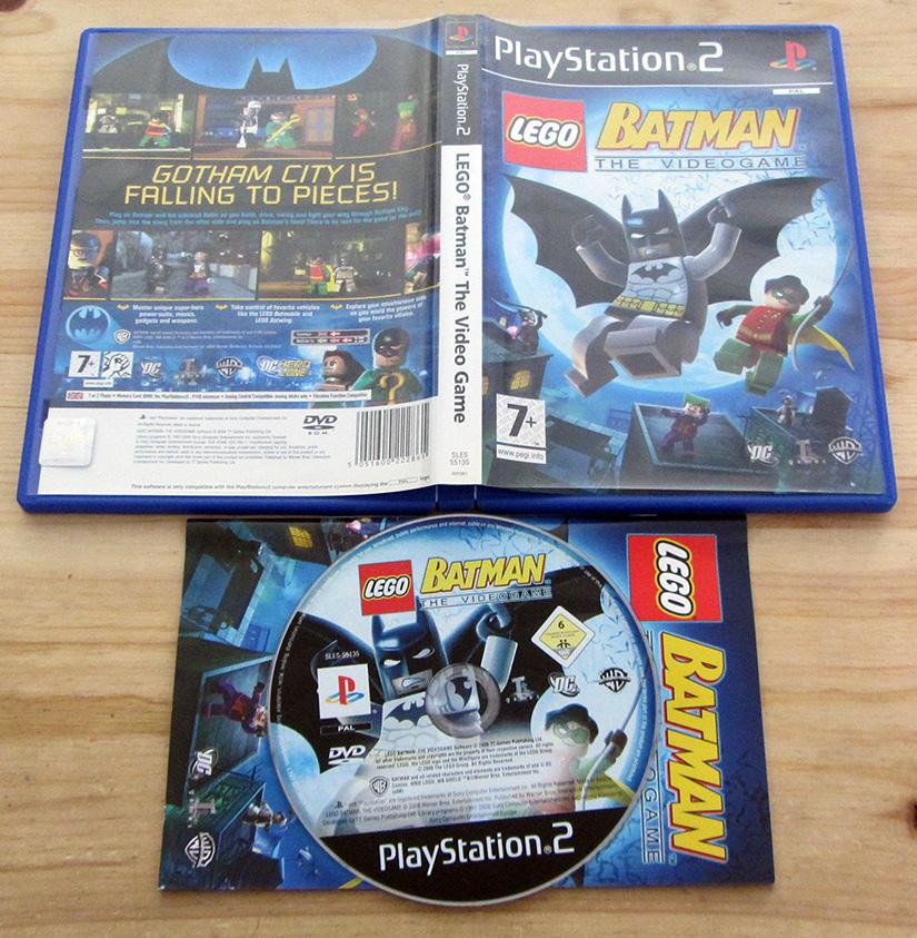 Lego Batman PS2 (Seminovo) - Play n' Play