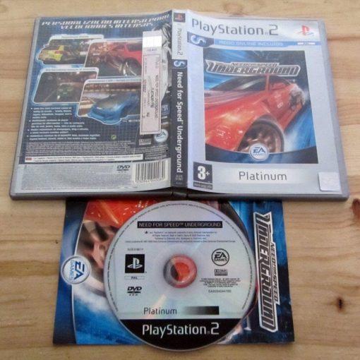 Need for Speed: Underground PS2