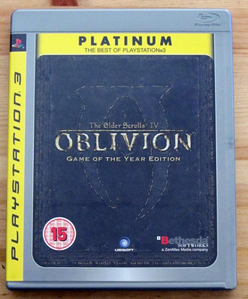 The Elder Scrolls IV: Oblivion - Game of the Year Edition PS3