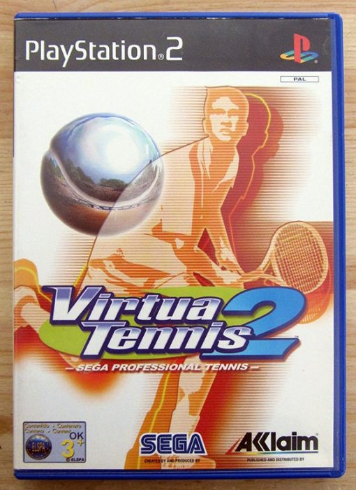 Virtua Tennis 2 PS2