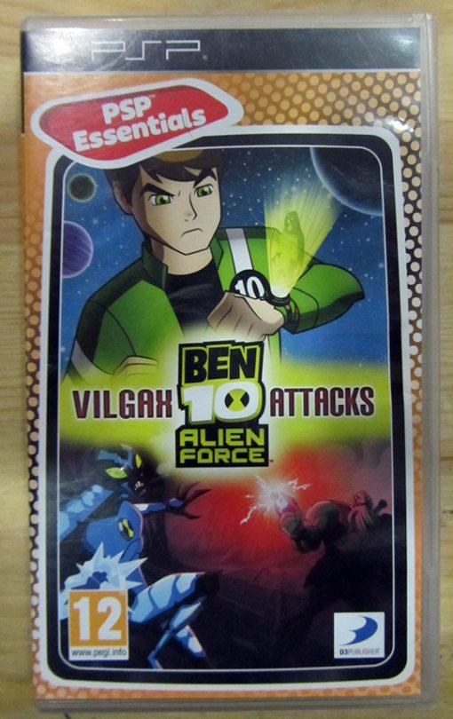 Ben 10 Alien Force: Vilgax Attacks PSP