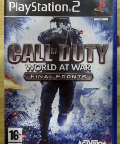 Call of Duty: World at War Final Fronts PS2