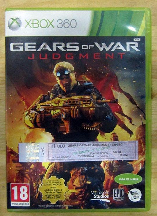Gears of War: Judgment X360
