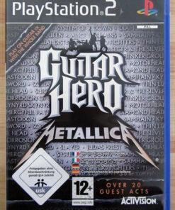 Guitar Hero: Metallica PS2