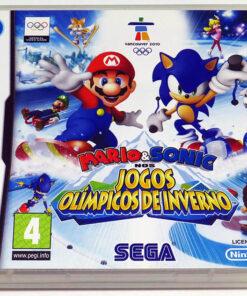 Mario & Sonic nos Jogos Olímpicos de Inverno NDS