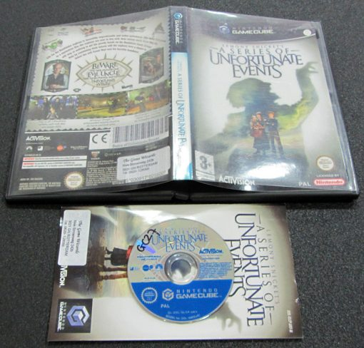 A Series of Unfortunate Events GameCube