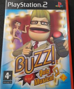 Buzz: Quiz Musical PS2