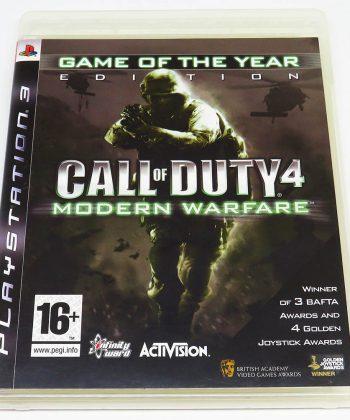 Call of Duty 4: Modern Warfare PS3
