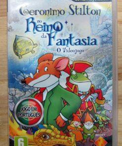 Geronimo Stilton no Reino da Fantasia PSP