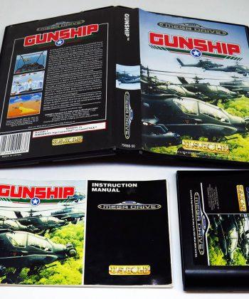 Gunship MEGA DRIVE