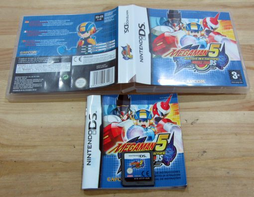 Mega Man Battle Network 5: Double Team DS NDS