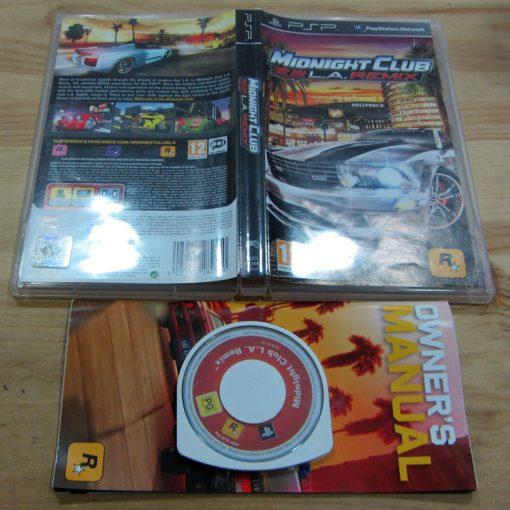 Midnight Club: LA Remix PSP