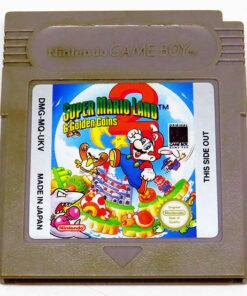 Super Mario Land 2: 6 Golden Coins CART GAME BOY